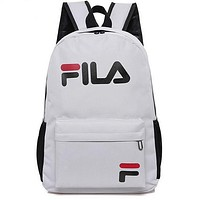 FILA Casual Sport Laptop Bag Shoulder School Bag Backpack