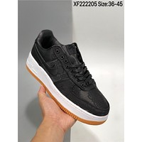 """Fragment Design x Nike Air Force 1 GPX Premium""""Game Black"""" cheap Men's and women's nike shoes"""