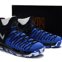 DCCKD9A Nike Zoom KD 9 Royal Blue/Black Basketball Shoe