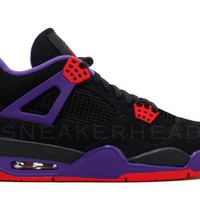BC SPBEST Nike Air Jordan Retro 4 NRG Raptors Black University Red Court Purple AQ3816-056 2018 PRE ORDER