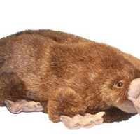 Happy Feet Mens and Womens Platypus Animal Slippers