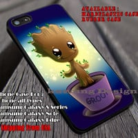 We Are Cute | We Are Groot | I'am Groot | Guardian | Of The Galaxy | Case/Cover for iPhone 4/4s/5/5c/6/6+/6s/6s+ Samsung Galaxy S4/S5/S6/Edge/Edge+ NOTE 3/4/5 #cartoon ii