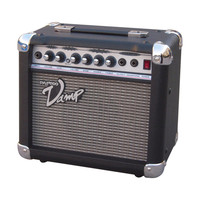 Pyle PVAMP30 30 Watt Vamp-Series Amplifier with 3-Band EQ and Overdrive