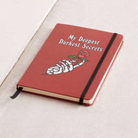Chinatown Market For UO Darkest Secrets Notebook | Urban Outfitters