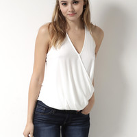 Decker Cut To It Tank - White