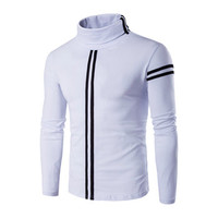 wearT Shirts Hombre Camisa Masculina Casual Slim Fit Long Sleeved T Shirts Pullovers Turtleneck