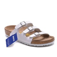 Men's and Women's BIRKENSTOCK sandals Florida Soft Footbed Birko-Flor 632632288-061