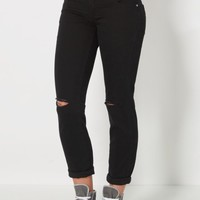 Black Freedom Flex Ripped Chino Skinny | Skinny Pants | rue21