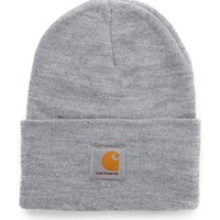 Carhartt Acrylic Watch Hat - Grey - Caps & Hats - Accessories | Shop for Men's clothing | The Idle Man