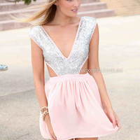 PRE ORDER - WILDFIRE DRESS (Expected Delivery 25th September, 2014) , DRESSES, TOPS, BOTTOMS, JACKETS & JUMPERS, ACCESSORIES, 50% OFF SALE, PRE ORDER, NEW ARRIVALS, PLAYSUIT, GIFT VOUCHER,,White,Sequin Australia, Queensland, Brisbane
