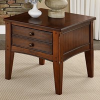 Liberty Furniture Cherryview End Table | www.hayneedle.com
