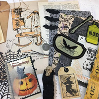 30 Pcs / Small Halloween Ephemera Pack