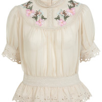 INSPIRED BY Embroided Top - Inspired By  - Clothing