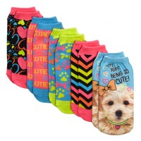 Ruff Puppy Photoreal Ankle Socks