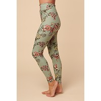 Veronica High Waisted Leggings (Mint)