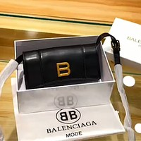 Balenciaga hourglass xs clutch bag shoulder bag crossbody bag
