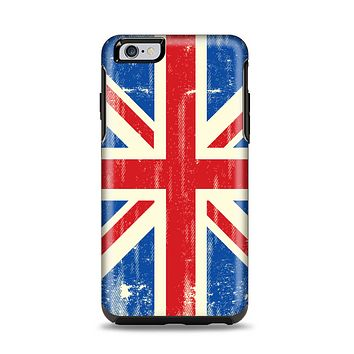 The Grunge Vintage Textured London England Flag Apple iPhone 6 Plus Otterbox Symmetry Case Skin Set