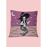 Spooky La Sirena Pillow