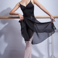 Free shipping adult ballet tulle skirt black yellow blue white pink tulle dancewear leotards free size