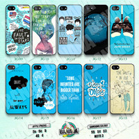 John Green, The Fault in Our Stars, iPhone 5 case, iPhone 5S case, iPhone 5c case, Phone case, iPhone 4 Case, iPhone 4S Case Phone Skin JG01