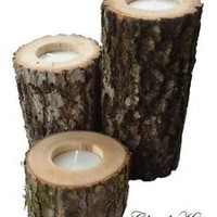 Wooden Candle Holders | eBay