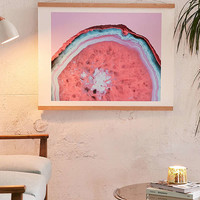 Emanuela Carratoni For Deny Pluto Agate Art Print   Urban Outfitters
