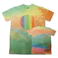 Official Edward Sharpe and the Magnetic Zeros Store | Watercolor Chakra Sublimation Tee (Unisex)