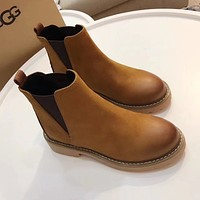 UGG Women Fashion Casual Low Heeled Shoes Boots