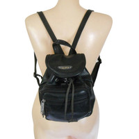 Small Backpack Purse Little Backpack 90s Backpack 90s Purse 90 Grunge Purse Black Backpack Black Purse Hipster Bag Little Bag Accessories