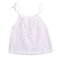 Toddler Baby Girl Openwork Crochet Lace Blouse born Kids braces Tank Tee