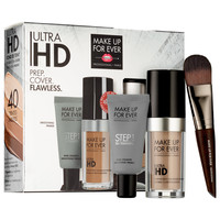 Sephora: MAKE UP FOR EVER : Ultra HD Foundation + Smoothing Skin Equalizer Customizable Set : complexion-sets