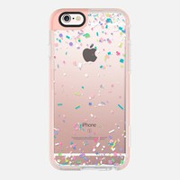 Pastel Spring Confetti Explosion iPhone 6s case by Organic Saturation | Casetify