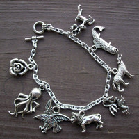 Game of Thrones major houses charm bracelet