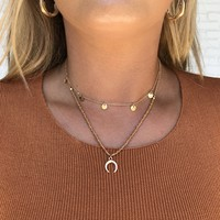 Shine Of My Life Gold Necklace