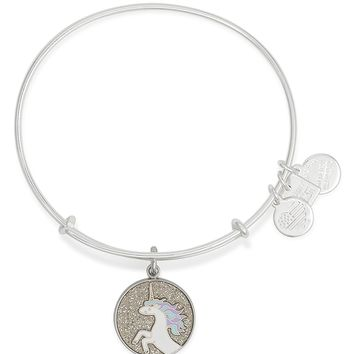 Alex and AniUnicorn Expandable Wire Bangle, Charity by Design Collection