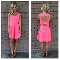 Hot Pink Heart Attack Dress