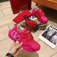 VALENTINO�Women's Men's 2020 New Fashion Casual Shoes Sneaker Sport Running Shoes