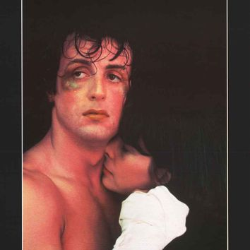 Rocky Balboa and Adrian Movie Poster 22x34