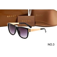Gucci 2018 counter new fashion trendy sunglasses F-ANMYJ-BCYJ NO.3