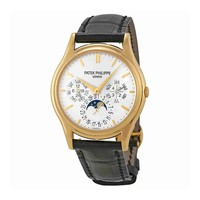 Patek Philippe Grand Complication White Dial 18kt Yellow Gold Mens Watch 5140J-001