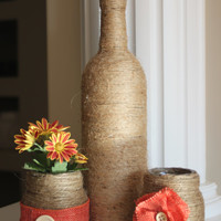 Rustic Fall Centerpiece, Home decor, Farmhouse, Autumn, Gifts, Rustic Home Accents