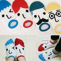 Womens Girls Funny Casual Sports Ankle Socks