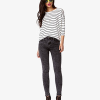 Striped Dolman Top   FOREVER 21 - 2027335290