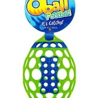 """Rhino Toys, 6"""" Oball Football, (Colors/Styles Vary)"""