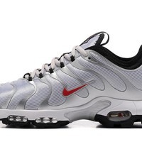 Nike Air Max Plus Tn Ultra Sport Shoes Casual Sneakers - Silver