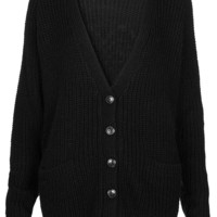 Knitted Stud Heart Cardi - New In This Week - New In - Topshop USA