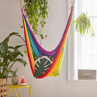 Yellow Leaf Hammocks Rainbow Hammock Chair | Urban Outfitters