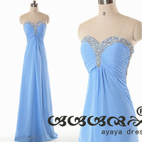 Chiffon Long Sweetheart Neckline Bridesmaid Dresses, Cheap Homecoming Dress ,Evening Dress, Wedding Party Dress ,Prom Dress2015, BN1533.