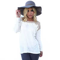 Blessed With Beauty Embroider Top