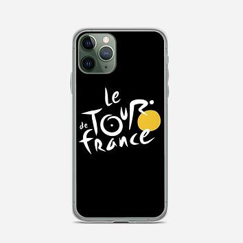 Le Tour De France Bicycle Bike Cycling iPhone 11 Pro Case